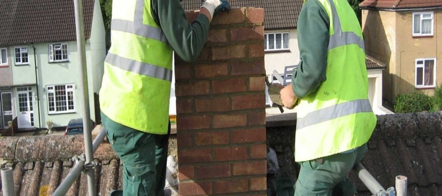 Chimney Rebuilding Birmingham City and birmingham