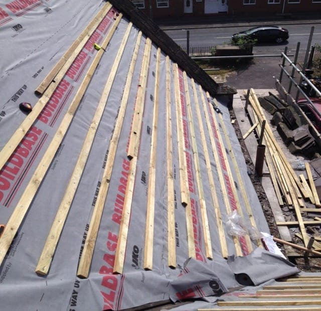 Latting and felting Roofs in S birmingham