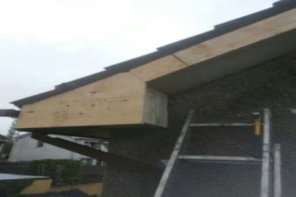 After Rotted pvc Fascia and soffit birmingham