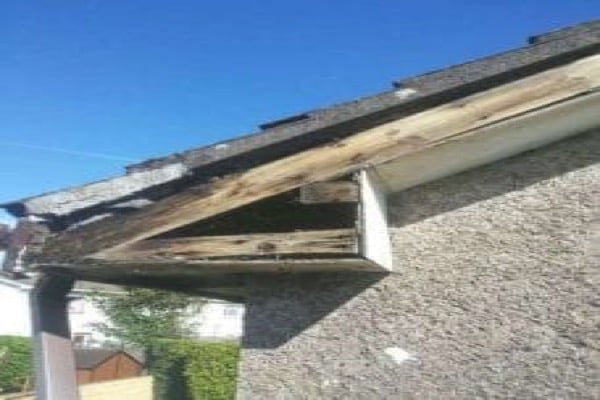 Timber Rotted on Upvc Fascia and soffit birmingham - Roofing Birmingham